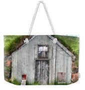 The Old Chicken Coop Iceland Turf Barn Weekender Tote Bag