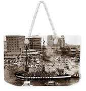 The Old Crew Of Gaspar Weekender Tote Bag by David Lee Thompson