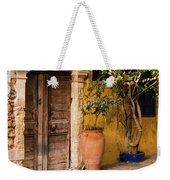 The Old Entrance Weekender Tote Bag