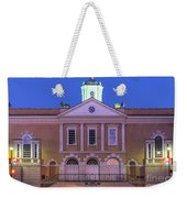 The Old Exchange And Provost Dungeon At Twilight Charleston South Carolina Weekender Tote Bag