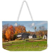 The Old Farm In Autumn Weekender Tote Bag