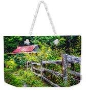 The Old Fence Weekender Tote Bag