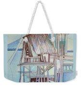 The Old Fishing Shack Weekender Tote Bag