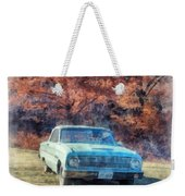 The Old Ford On The Side Of The Road Weekender Tote Bag