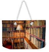 The Old Library Weekender Tote Bag