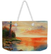 The Old Lighthouse  Weekender Tote Bag