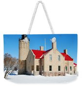 The Old Mackinac Point Lighthouse Weekender Tote Bag