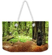 The Old Man In The Forest Weekender Tote Bag
