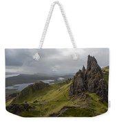 The Old Man Of Storr, Isle Of Skye, Uk Weekender Tote Bag
