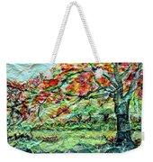 The Old Maple Tree Weekender Tote Bag