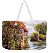 The Old Mill Of Vernon Weekender Tote Bag