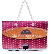 The Old Pittman Store Sign Weekender Tote Bag