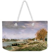 The Old Quay At Bercy Weekender Tote Bag