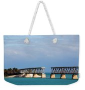The Old Railroad To The Keys Weekender Tote Bag