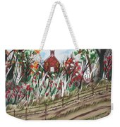 The Old Red Church Weekender Tote Bag