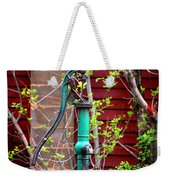 The Old Rusty Water Pump Weekender Tote Bag