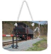 The Old Steam Locomotive Weekender Tote Bag