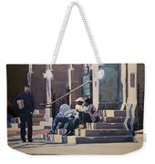The Old Stone Church Weekender Tote Bag