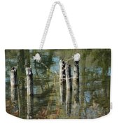 The Old Swimming Hole Weekender Tote Bag