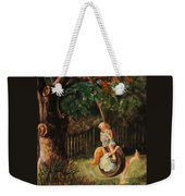 The Old Tire Swing Weekender Tote Bag
