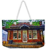 The Old Train Station Weekender Tote Bag
