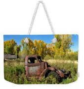 The Old Truck  Chama New Mexico Weekender Tote Bag