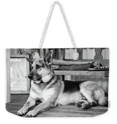 The Old Watch Dog Weekender Tote Bag