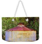 The Old Water Tank Weekender Tote Bag