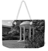 The Old Well At Chapel Hill In Black And White Weekender Tote Bag
