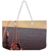 The Old Wooden Boat Weekender Tote Bag