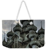 The Old Wooden Church Weekender Tote Bag