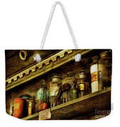The Olde Apothecary Shop Weekender Tote Bag