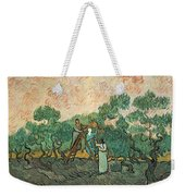The Olive Pickers Weekender Tote Bag by Vincent van Gogh