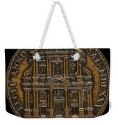The Opening For Worship Of The Chiesa Del Gesu, Rome [reverse] Weekender Tote Bag