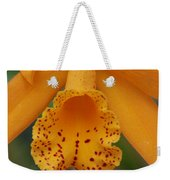 The Orange Orchid Weekender Tote Bag