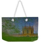 Fairytale Castle On A Meadow. Weekender Tote Bag