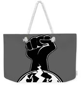 The Orchestrator Fist Weekender Tote Bag