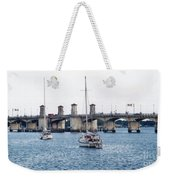 The Original Bridge Of Lions Weekender Tote Bag