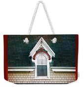 The Ornamented Gable Weekender Tote Bag