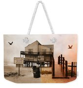 The Osprey And The Pelican Weekender Tote Bag