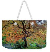 The Other Japanese Maple Tree In Autumn Weekender Tote Bag