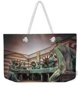 The Other Last Supper In Milan Italy Weekender Tote Bag