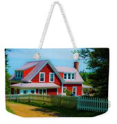 The Other Red House Monhegan Weekender Tote Bag