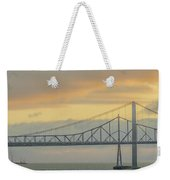 The Other Side Of The Bridge Weekender Tote Bag