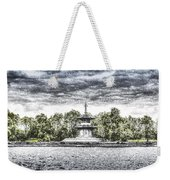 The Pagoda In The Snow Weekender Tote Bag