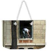 The Painter In The Window Weekender Tote Bag