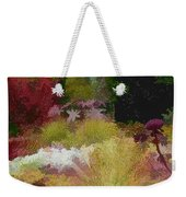 The Painted Garden Weekender Tote Bag