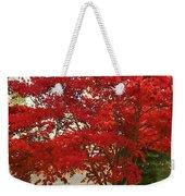 The Painted Leaves Weekender Tote Bag