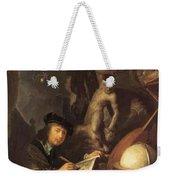 The Painter In His Workshop 1647 Weekender Tote Bag