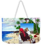 The Painting Pirate Weekender Tote Bag